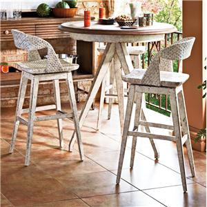 Stanley Furniture Archipelago 3-Piece Pub Table Set