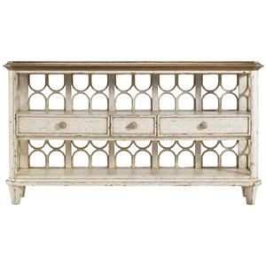 Stanley Furniture Archipelago Antilles Console Table