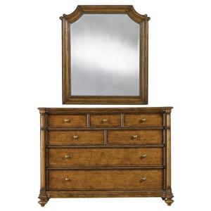 Stanley Furniture Arrondissement Belle Mode Dresser & Musée Mirror