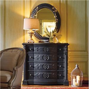Stanley Furniture Arrondissement Époque Dresser & Jardin Mirror