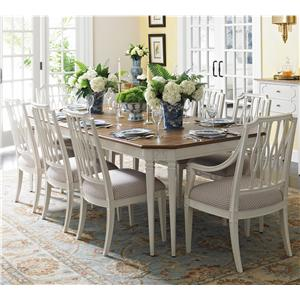 Stanley Furniture Charleston Regency 9 Piece Table and Chairs Set