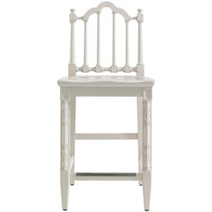 Stanley Furniture Charleston Regency Chippendale Counter Stool
