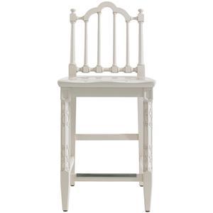 Stanley Furniture Charleston Regency Chippendale Counter Stool