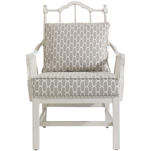 Stanley Furniture Charleston Regency Chippendale Planter's Chair