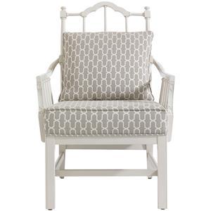 Stanley Furniture Charleston Regency Chippendale Planter's Chair