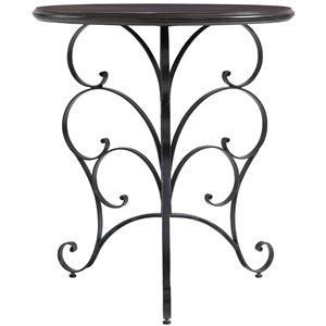 Stanley Furniture Charleston Regency Ribbon Scroll End Table