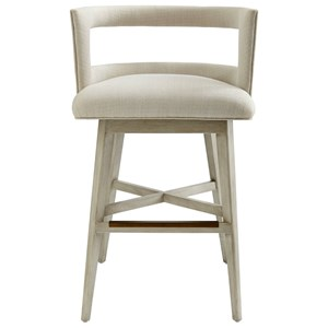 Crestwood Barstool with Swivel Seat
