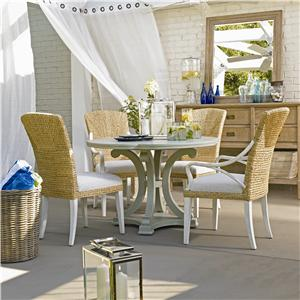 Stanley Furniture Coastal Living Resort 5 Piece Table and Chair Set