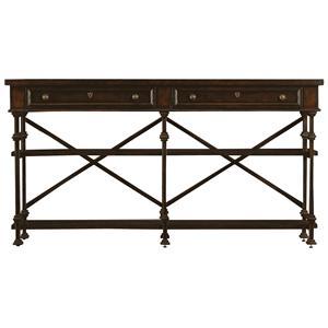 Stanley Furniture European Farmhouse Belgian Cross Huntboard