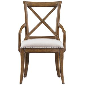 Stanley Furniture European Farmhouse Fairleigh Fields Host Chair