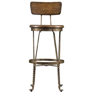 Stanley Furniture European Farmhouse Artisan's Apprentice Barstool