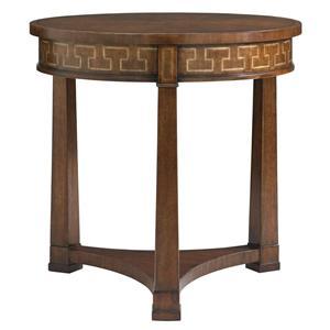 Stanley Furniture Fairfax Round Lamp Table