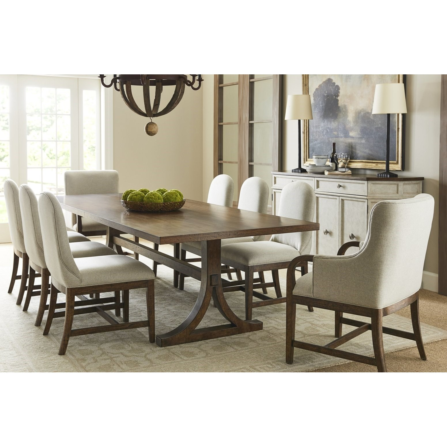 Hillside Formal Dining Group by Stanley Furniture at Alison Craig Home Furnishings
