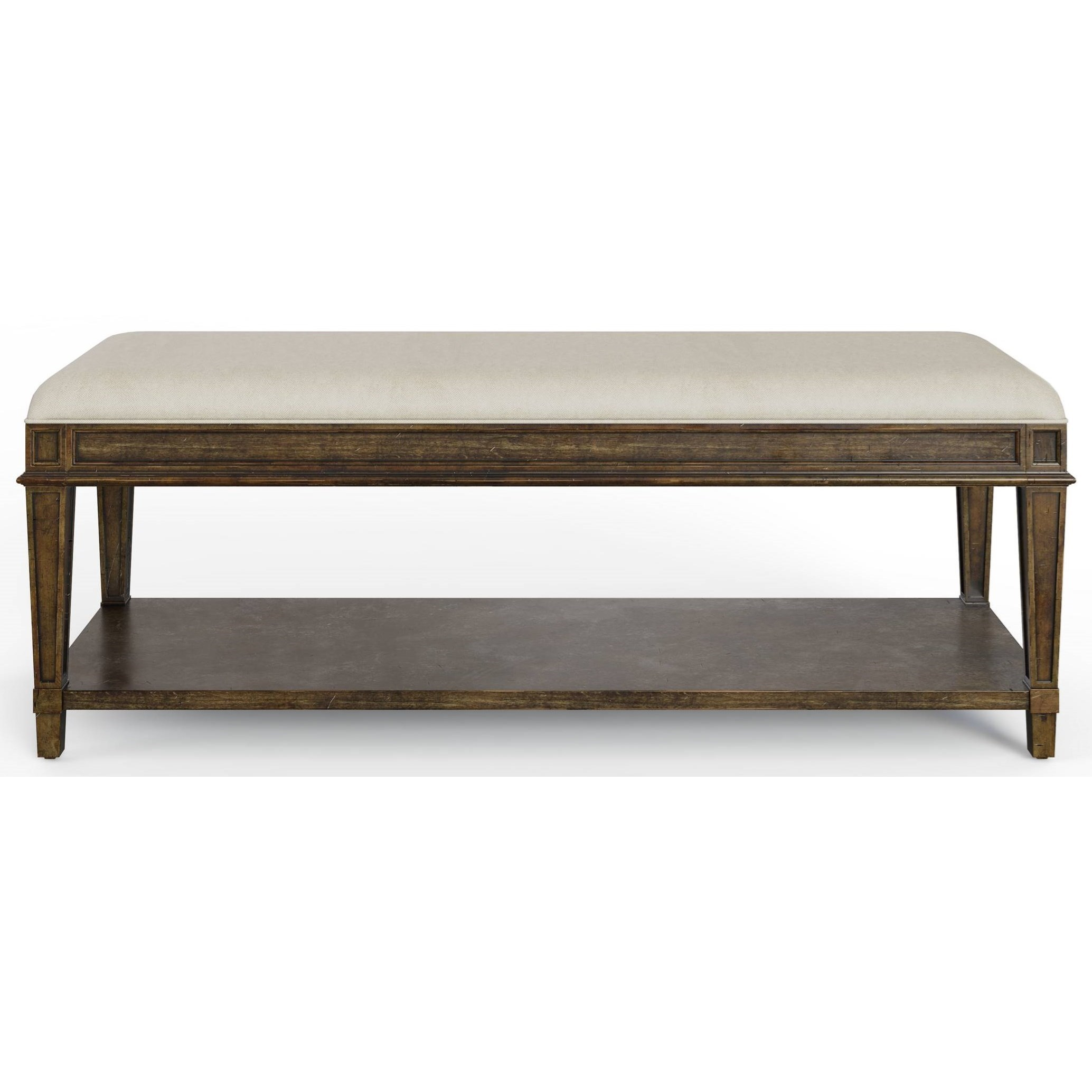Hillside Bed End Bench by Stanley Furniture at Alison Craig Home Furnishings