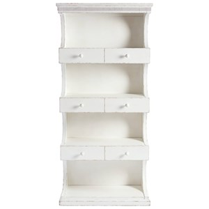Bookcase with Cantilevered Design