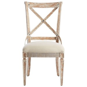 Side Chair with Bentwood Straps