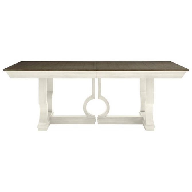 Latitude Pedestal Dining Table by Stanley Furniture at Alison Craig Home Furnishings