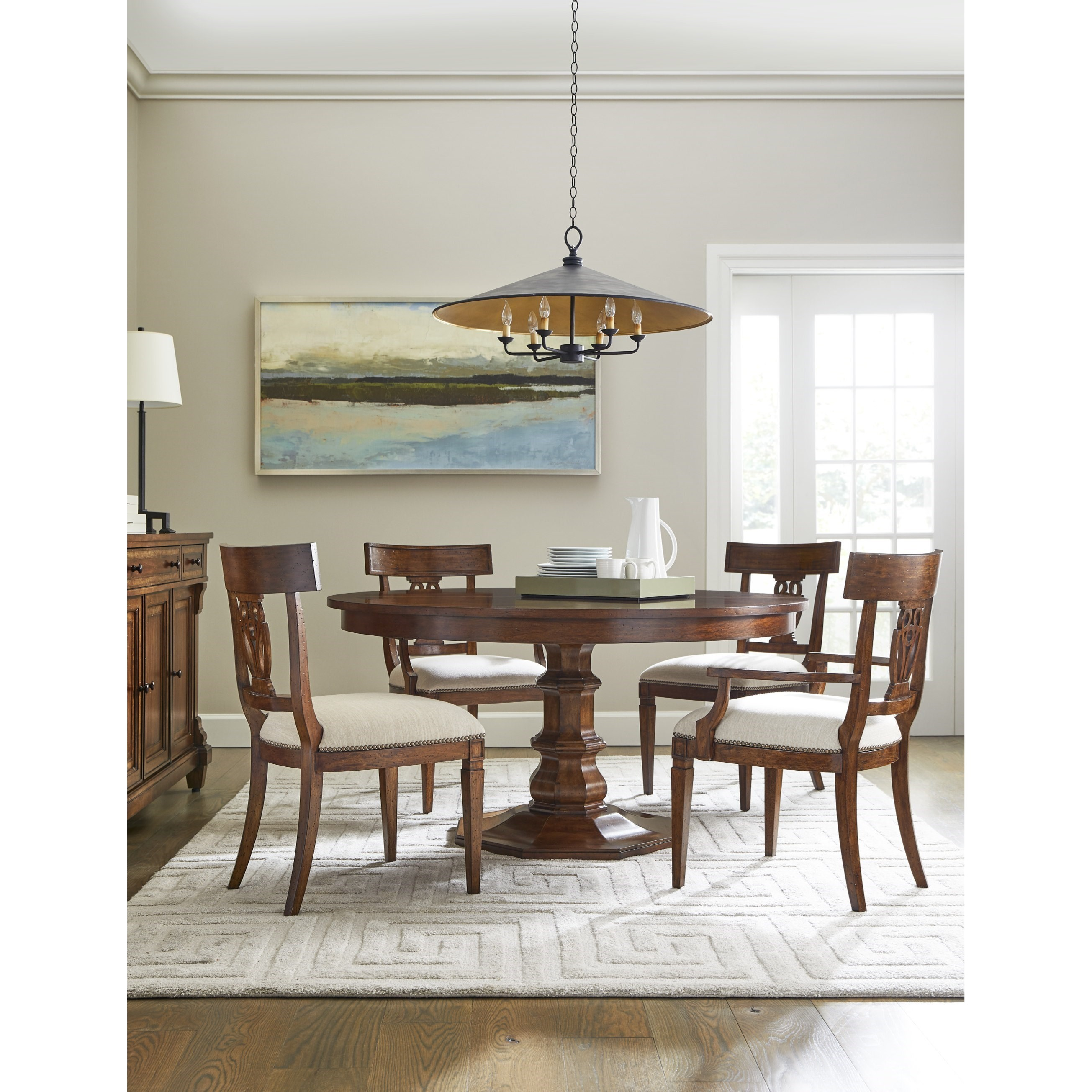 Old Town Dining Room Group by Stanley Furniture at Alison Craig Home Furnishings