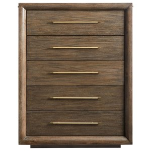 Panorama Drawer Chest with Pullout Rods