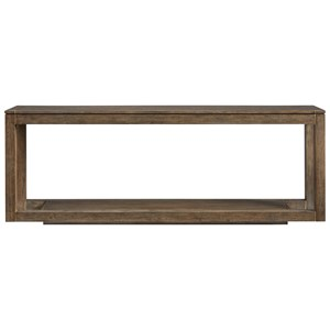 Floating Parsons Console Table