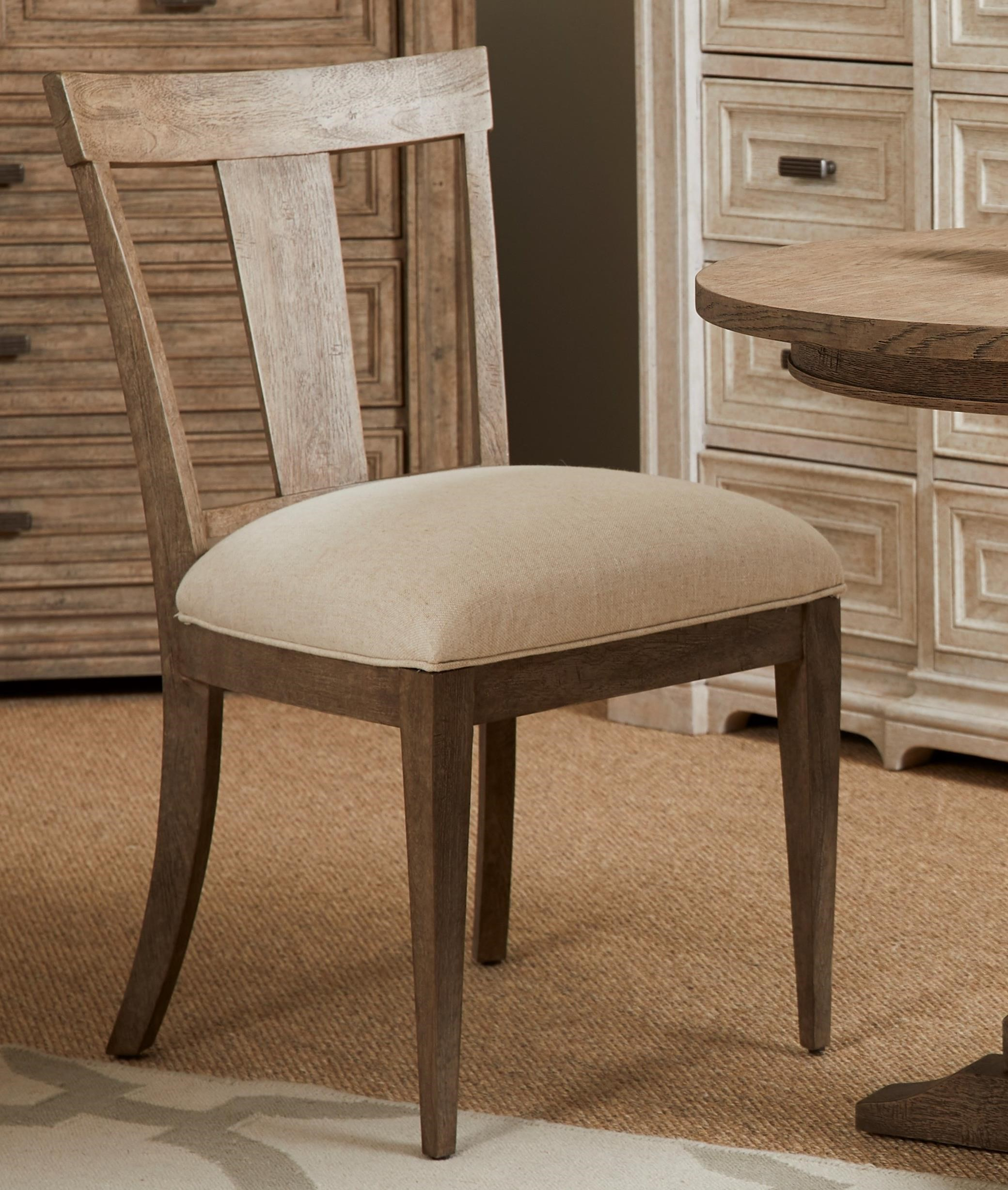 Portico Bistro Chair by Stanley Furniture at Alison Craig Home Furnishings