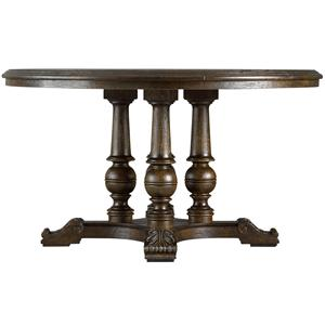 """Stanley Furniture Rustica 54"""" Round Table"""