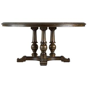 """Stanley Furniture Rustica 64"""" Round Table"""