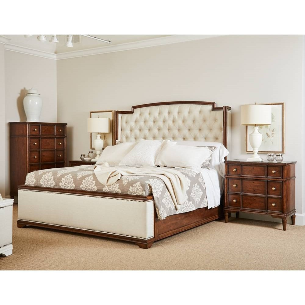 Vintage King Bedroom Group by Stanley Furniture at Esprit Decor Home Furnishings
