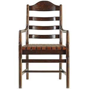 Stanley Furniture The Classic Portfolio Artisan Ladderback Arm Chair