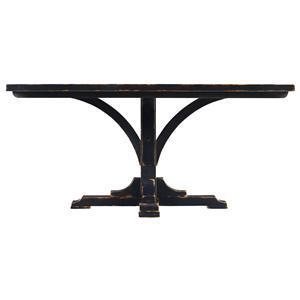 Stanley Furniture The Classic Portfolio Artisan Pedestal Table