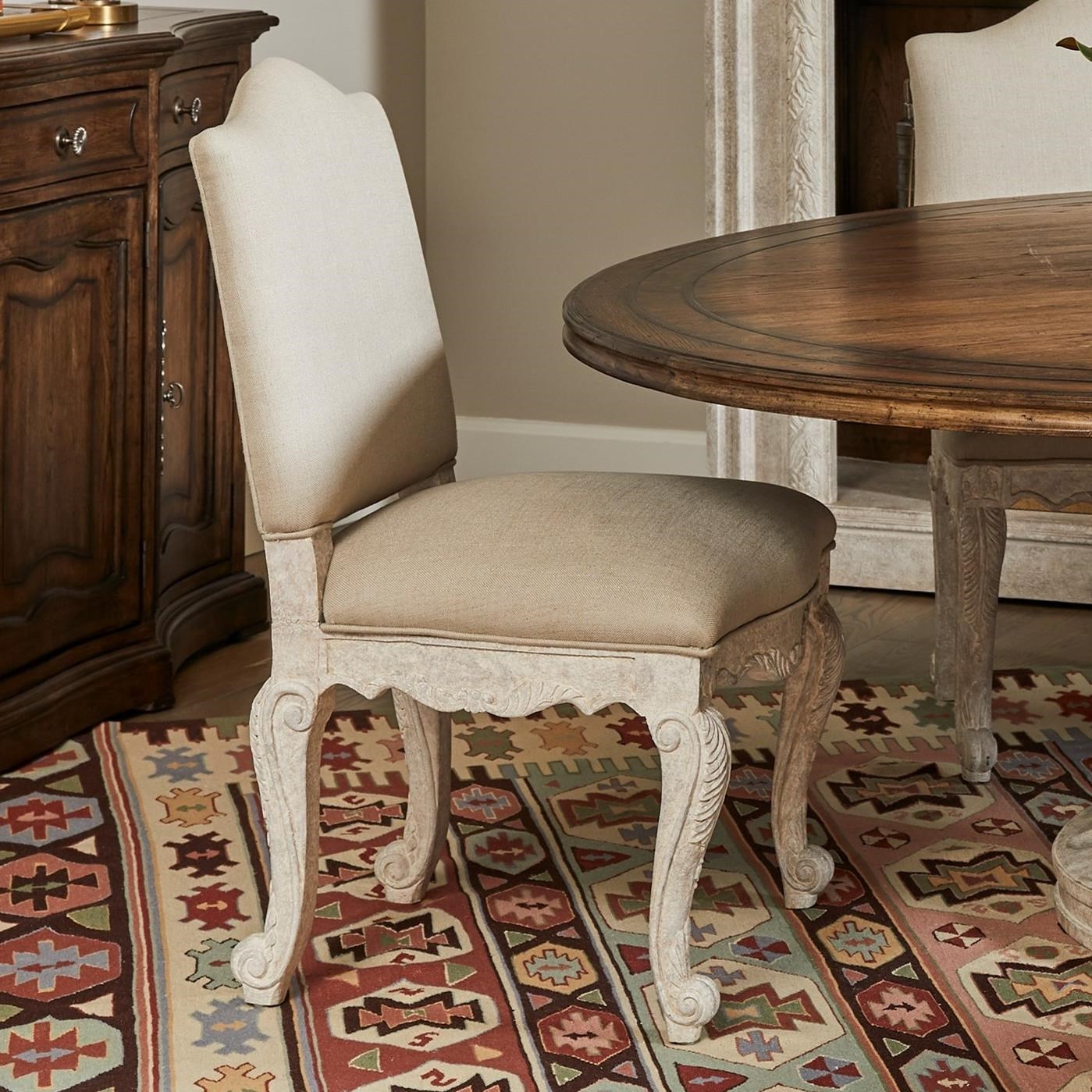 Thoroughbred Curlin Upholstered Side Chair by Stanley Furniture at Alison Craig Home Furnishings