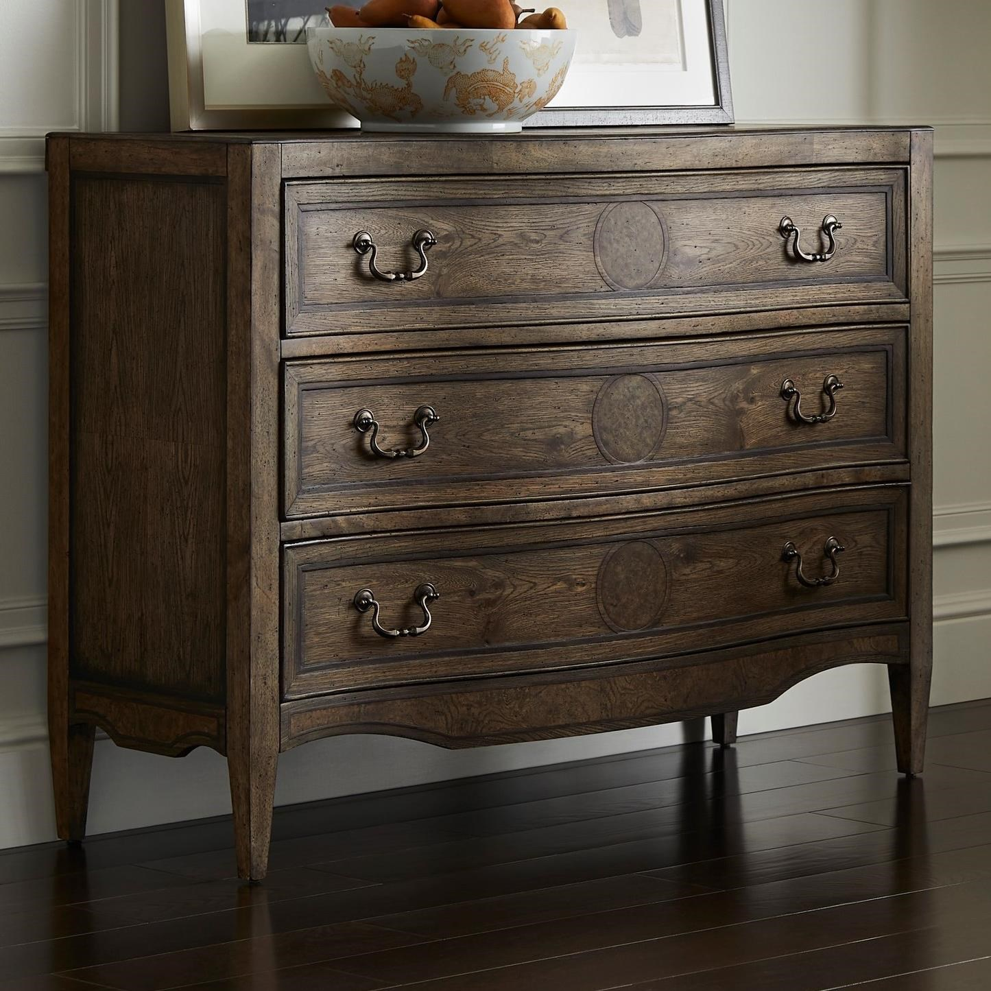 Thoroughbred Canterbury Low Chest by Stanley Furniture at Alison Craig Home Furnishings