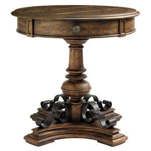 Stanley Furniture Villa Fiora Round Bedside Table