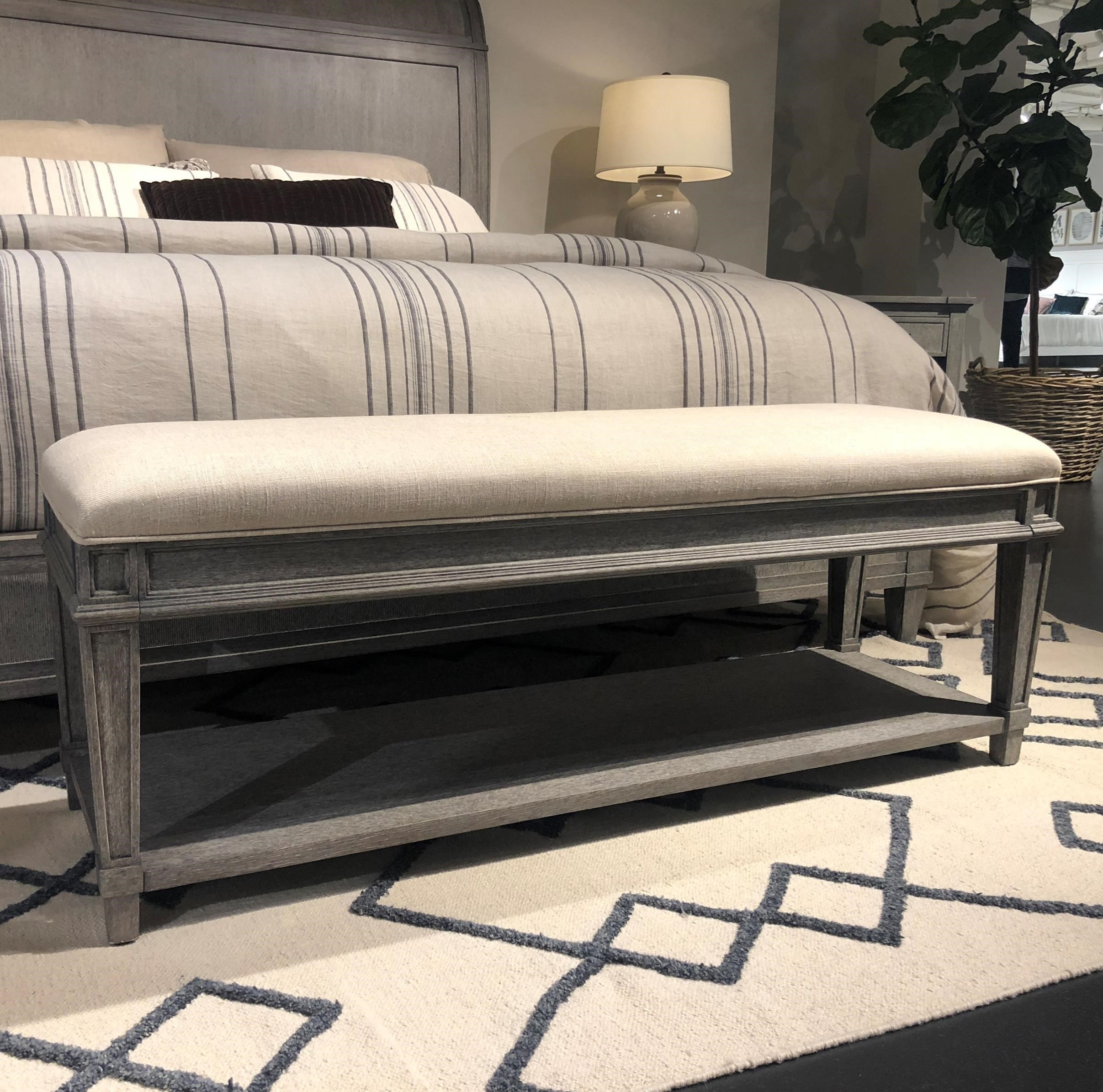 Willow Bed End Bench by Stanley Furniture at Alison Craig Home Furnishings