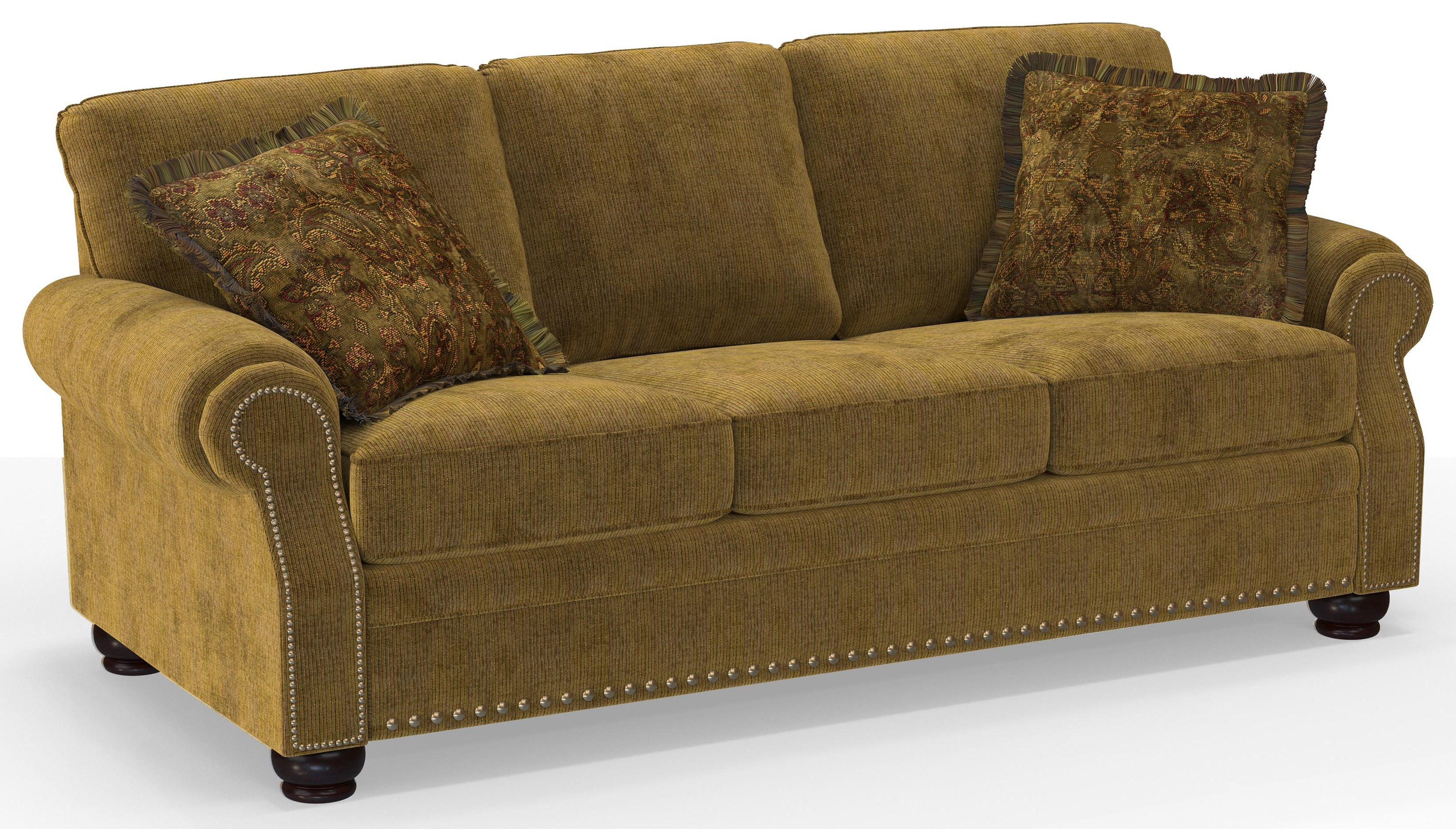 191 3 Over 3 Sofa by Sunset Home at Walker's Furniture
