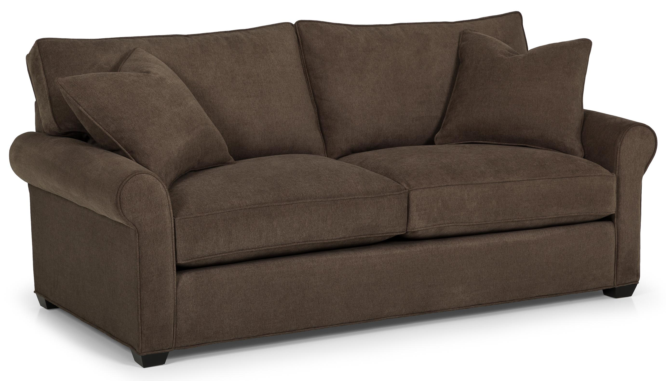 225 Transitional Queen Gel Sofa Sleeper by Stanton at Wilson's Furniture