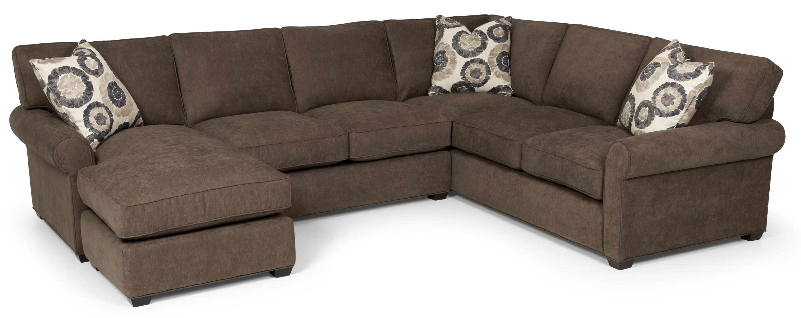 225 Transitional 2 Piece Sectional Sofa by Stanton at Wilson's Furniture