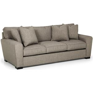 Casual Sofa with Loose Pillow Back