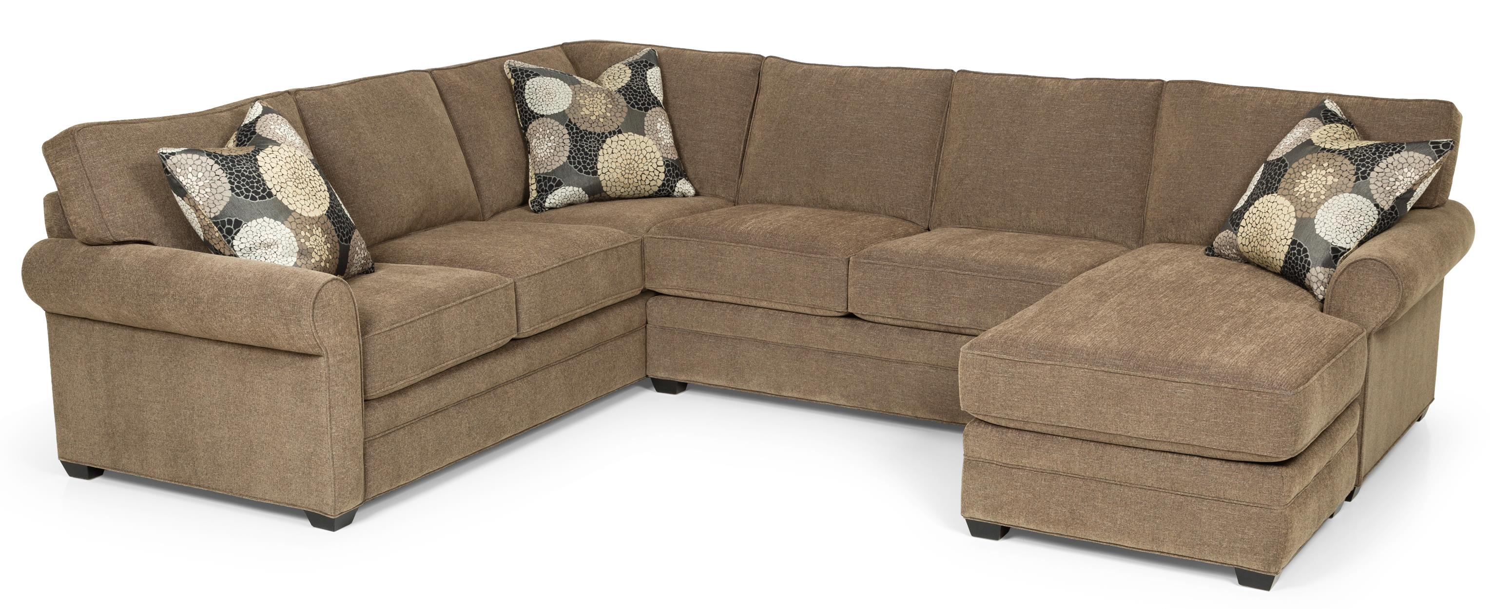 283 Sectional Sofa by Stanton at Wilson's Furniture