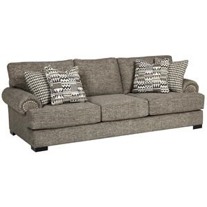 Transitional 103 Inch Large Sofa