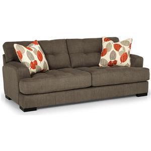 Stationary Two Cushion Sofa