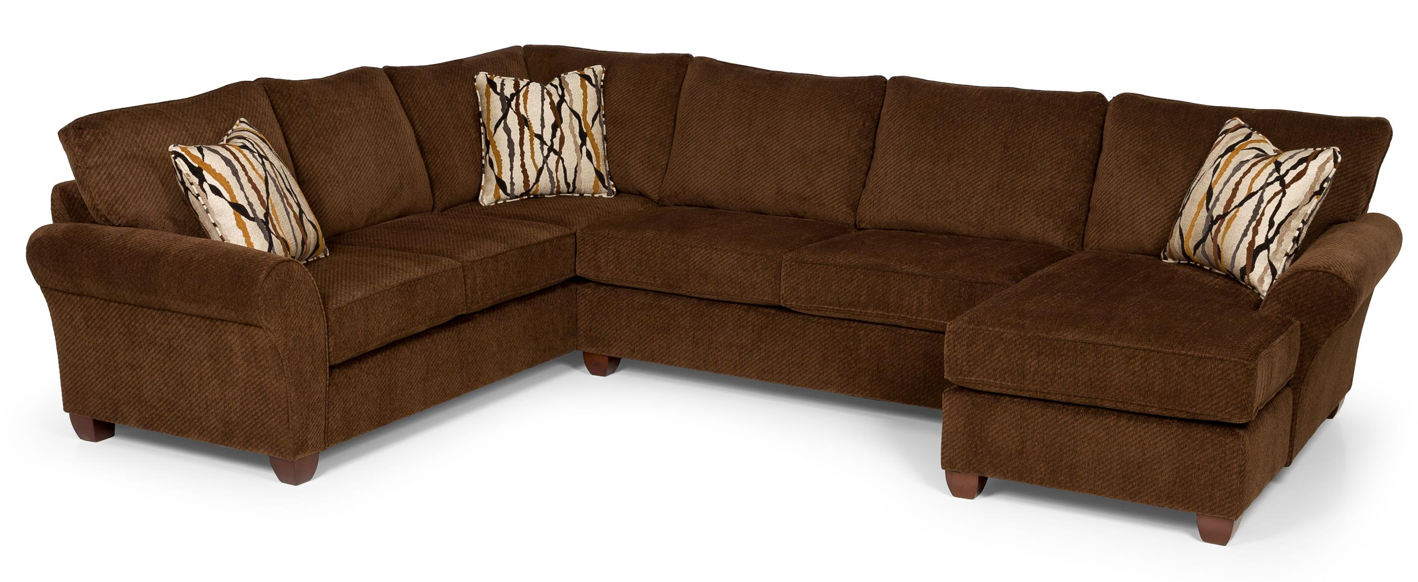 320 Sectional Sofa by Stanton at Wilson's Furniture