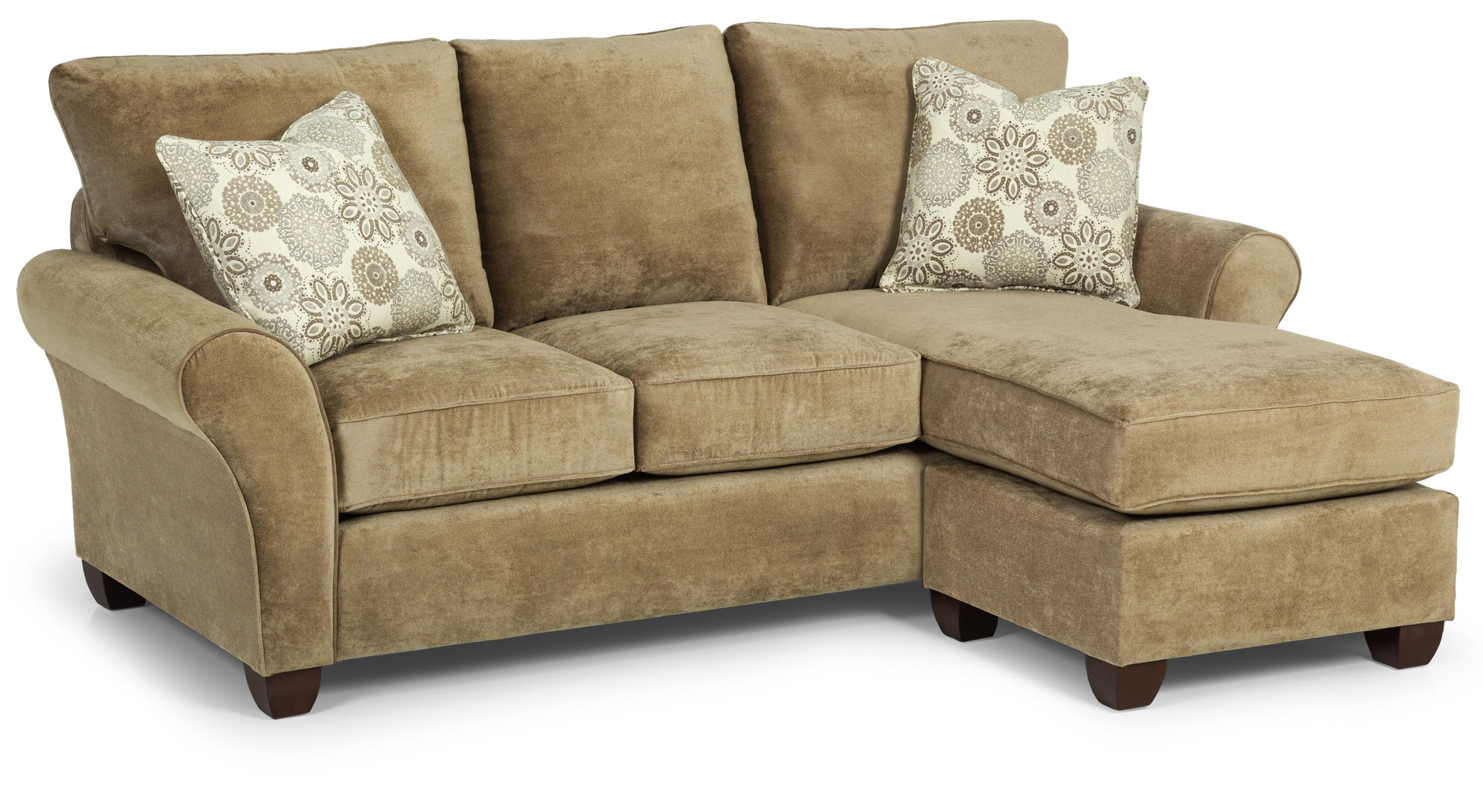 320 Queen Gel Chaise Sofa Sleeper by Stanton at Wilson's Furniture