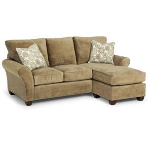 Queen Basic Chaise Sofa Sleeper