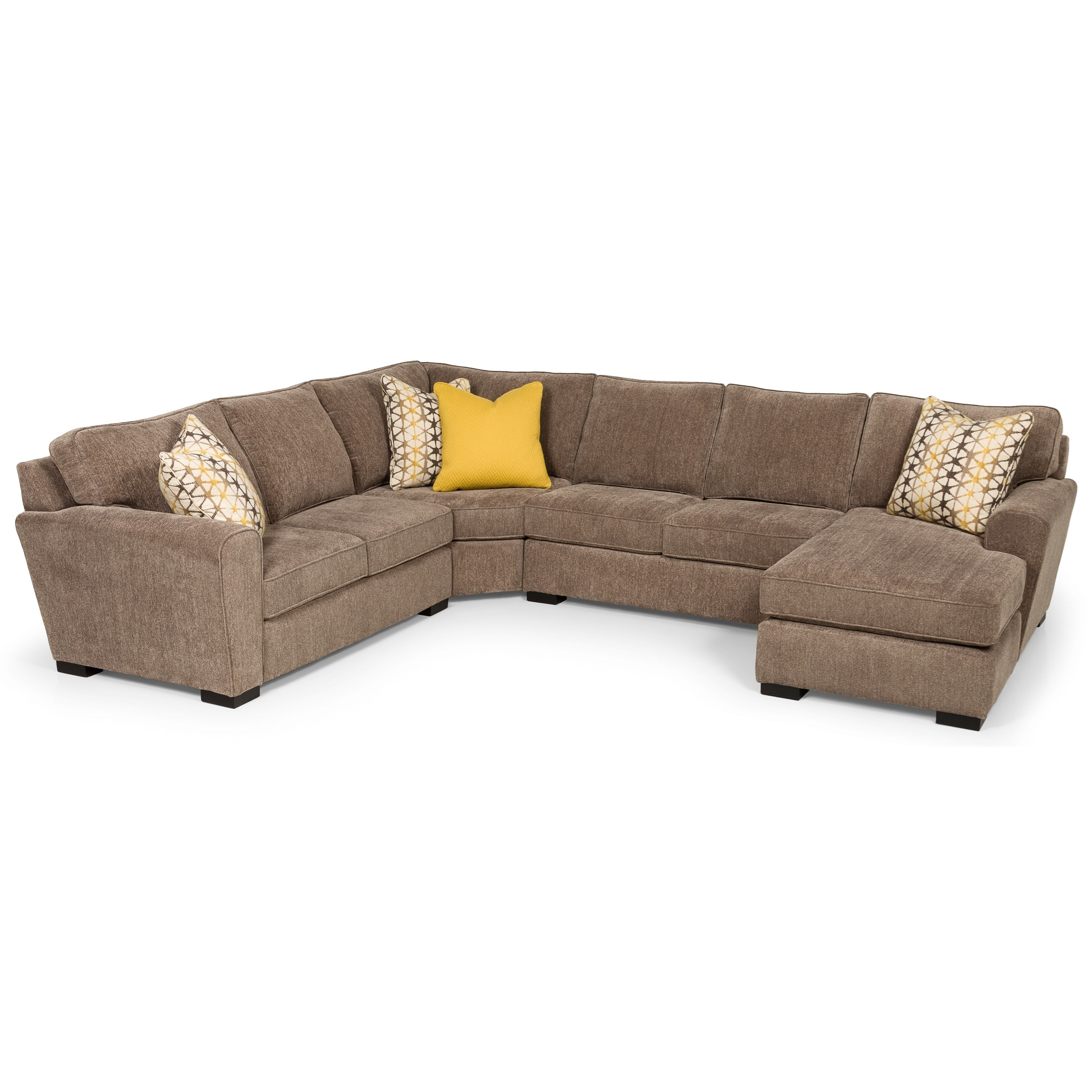 323 4-Piece Sectional by Stanton at Wilson's Furniture