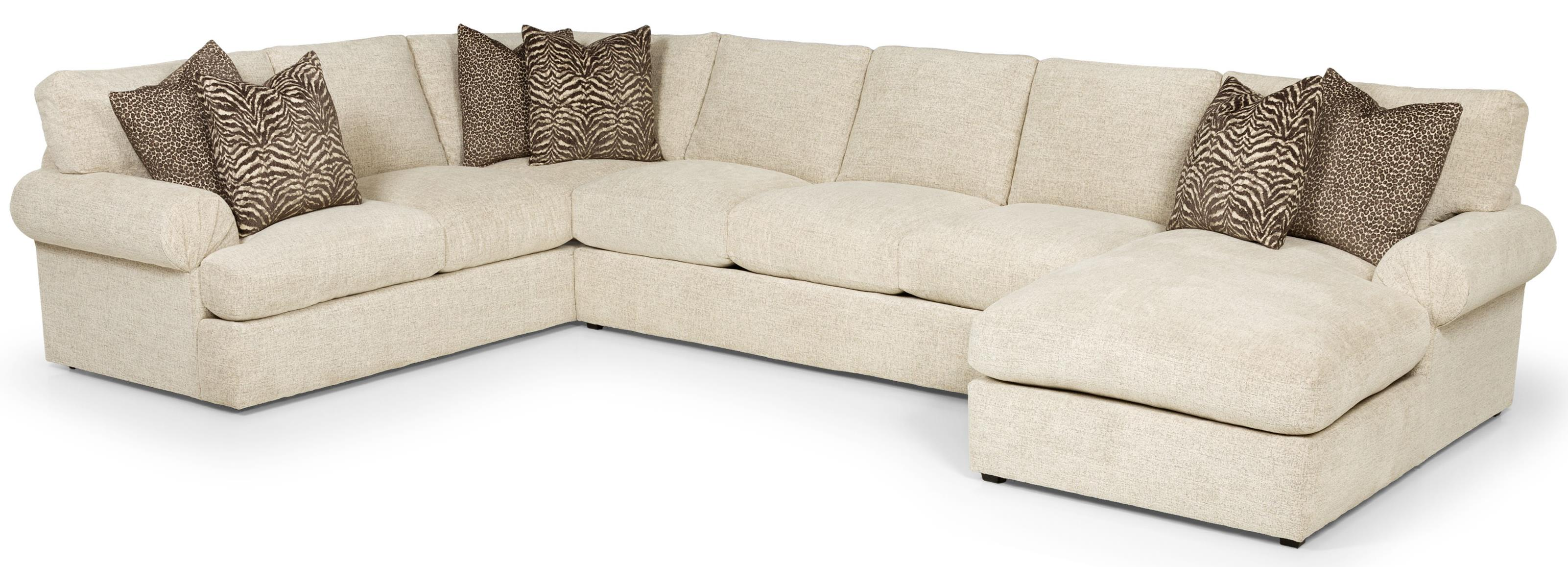 329 Sectional Sofa by Stanton at Wilson's Furniture