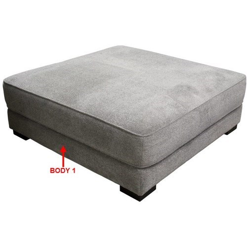 338 XL Square Cocktail Ottoman by Sunset Home at Walker's Furniture