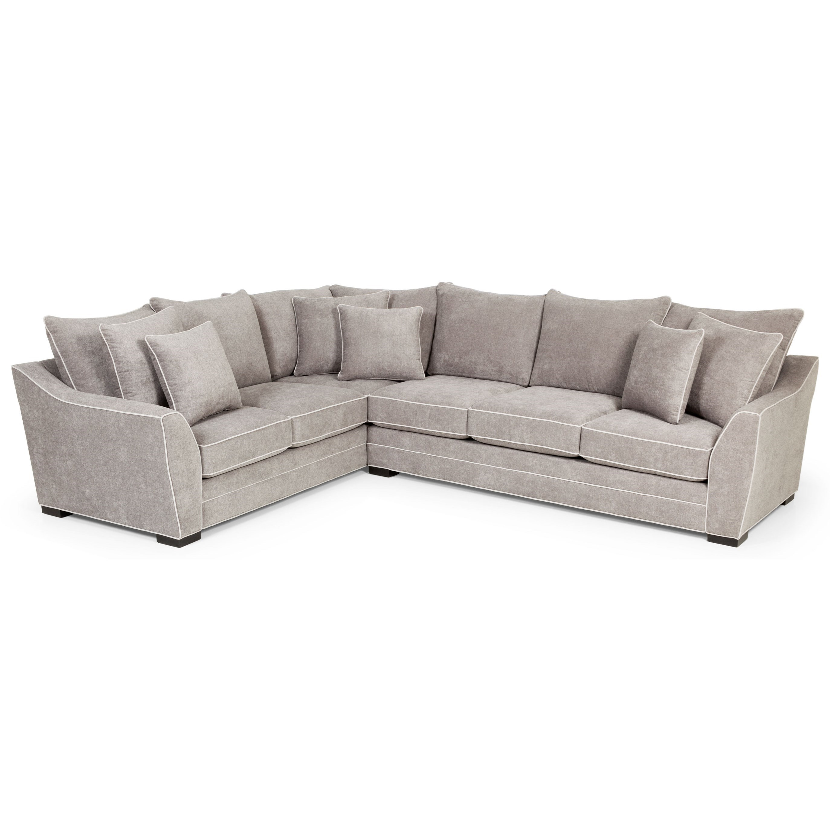 378 2-Piece Sectional by Sunset Home at Sadler's Home Furnishings