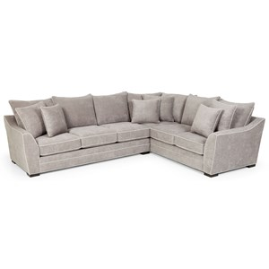 Casual 2-Piece Sectional