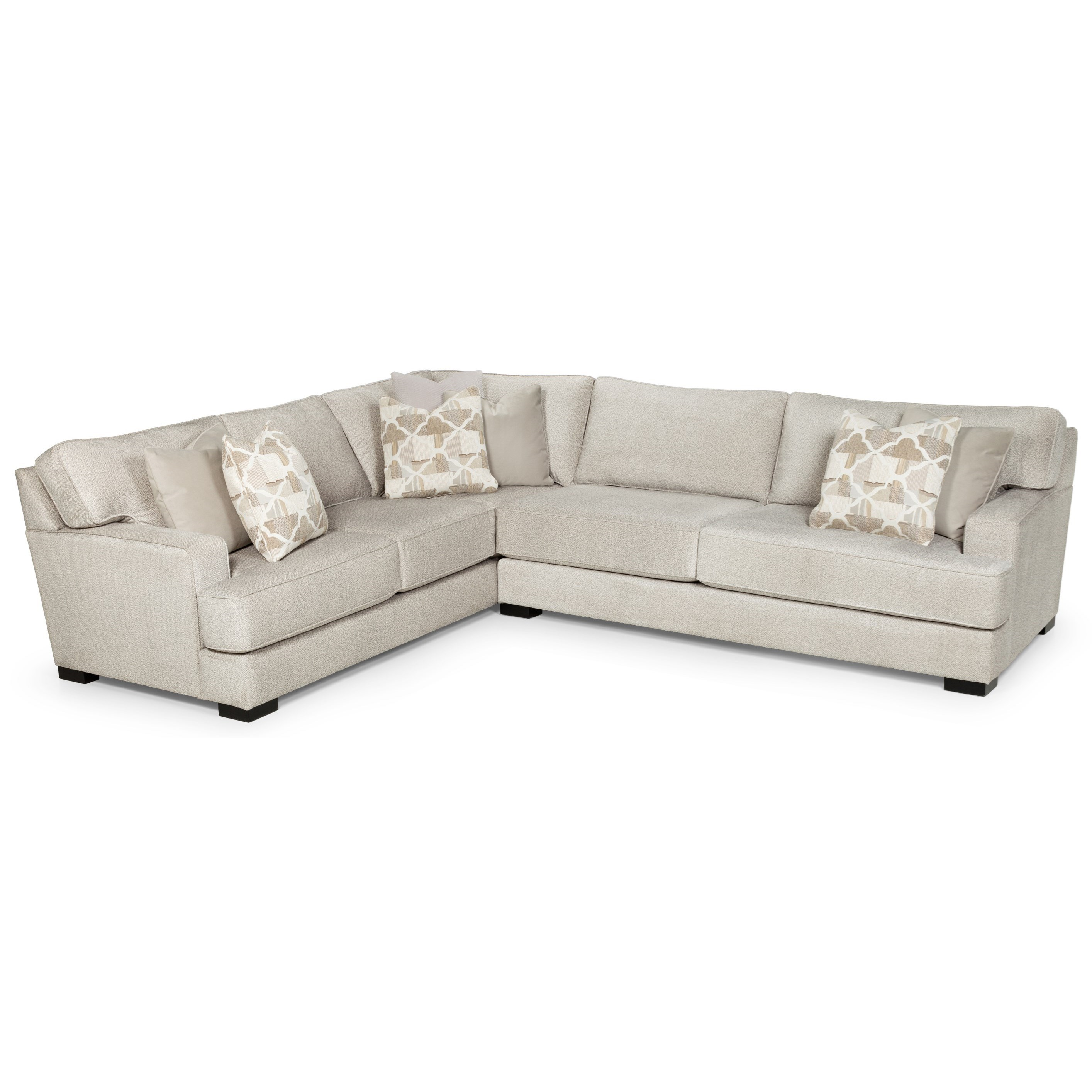 417 Sectional by Sunset Home at Sadler's Home Furnishings